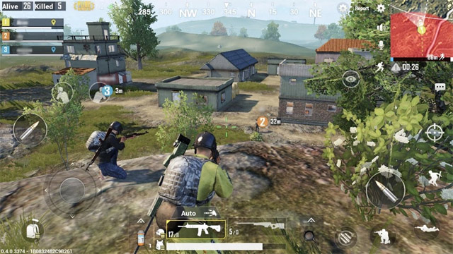 Giao diện game PUBG Mobile