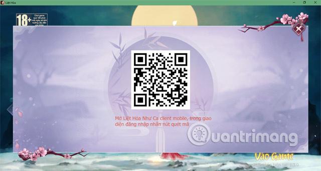 Quét mã QR Lieh Hoa VNG