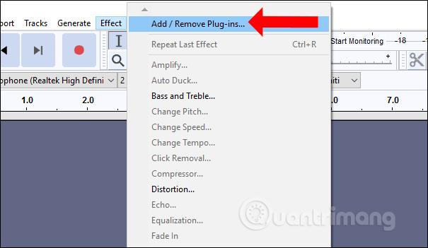 Cách cài GSnap chỉnh âm thanh trên Audacity - Quantrimang com