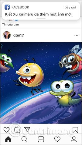 Đăng bài lên Instagram