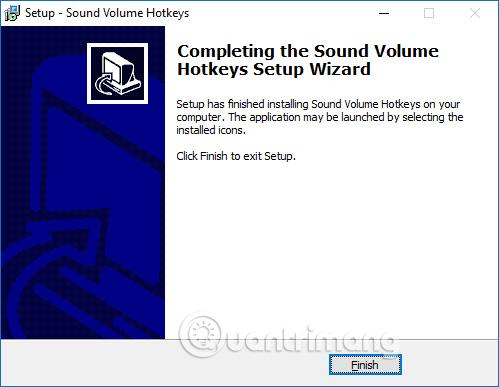 Cài đặt Sound Volume Hotkeys