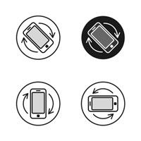 Cách xoay màn hình trên iPhone và Android