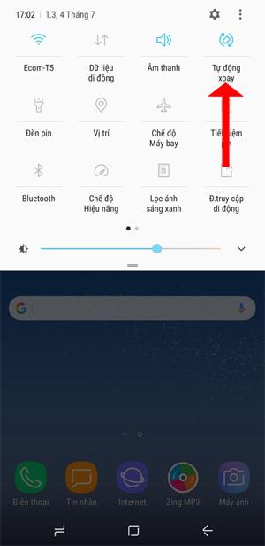 Thanh thông báo trạng thái Android