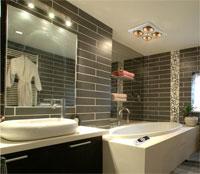 Bí quyết chọn đèn sưởi nhà tắm phù hợp với diện tích phòng