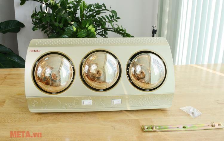 đèn sưởi nhà tắm 3 bóng