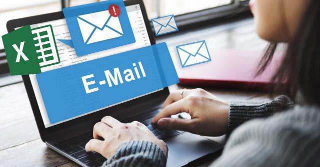 Cách gửi email từ bảng tính Excel bằng tập lệnh VBA