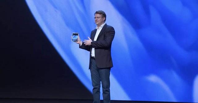 Đây là điện thoại gập của Samsung