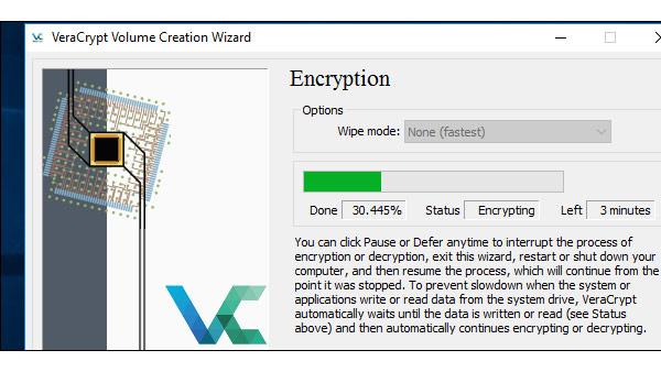 Cách mã hóa ổ đĩa hệ thống Windows với VeraCrypt