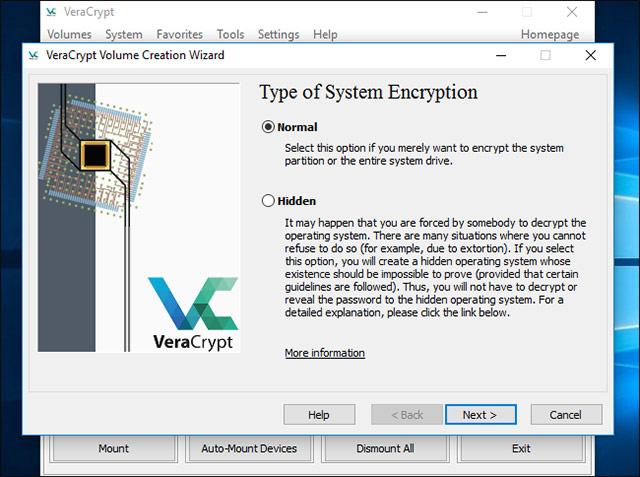 Cách mã hóa ổ đĩa hệ thống Windows với VeraCrypt - Ảnh minh hoạ 4