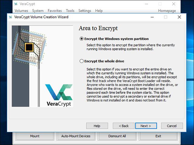 Cách mã hóa ổ đĩa hệ thống Windows với VeraCrypt - Ảnh minh hoạ 5