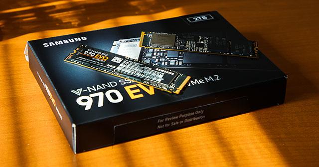 Ổ SSD 970 EVO 500GB PCIe của Samsung