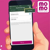 Hướng dẫn thanh toán hóa đơn di động trả sau trên ví MoMo