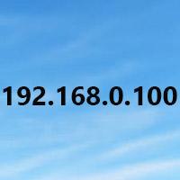 Tìm hiểu địa chỉ IP 192.168.0.100 cho mạng cục bộ