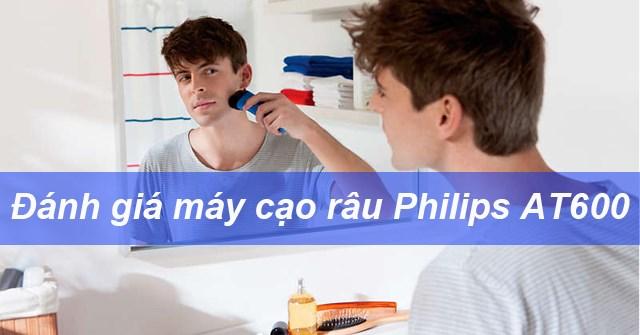 Review máy cạo râu Philips AT600