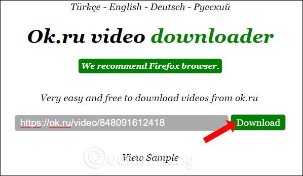 Cách download video trên ok ru - Quantrimang com