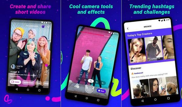 Lasso, ứng dụng tạo video ngắn