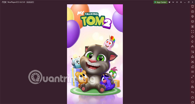 Giao diện đang vào My Talking Tom 2 Play Store NoxPlayer