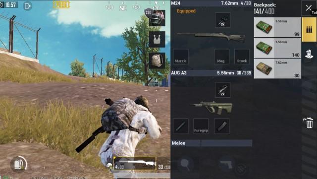 Combo Sniper Rifle với AR PUBG Mobile