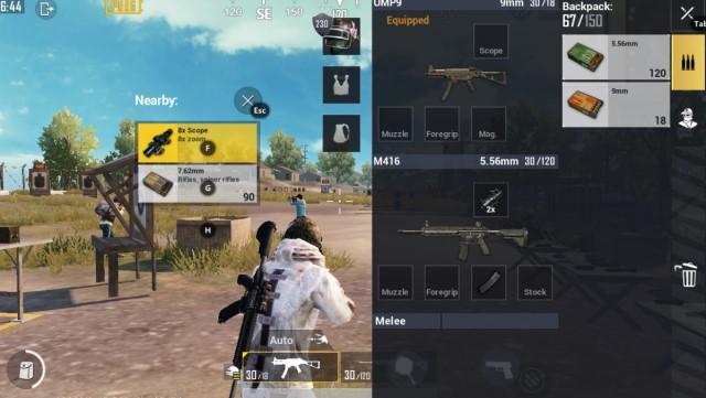Combo SMG với AR PUBG Mobile