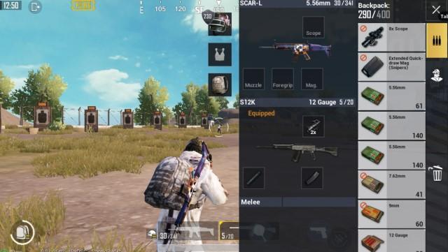 Com Bo AR với Shotgun PUBG Mobile