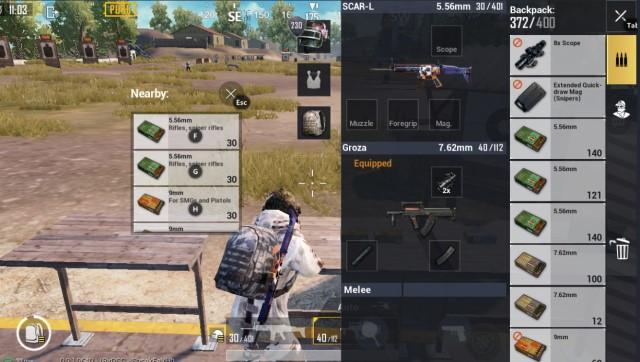 Combo súng AR với AR PUBG Mobile