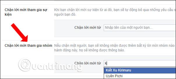 Cách chặn thêm vào nhóm trên Facebook - Ảnh minh hoạ 3