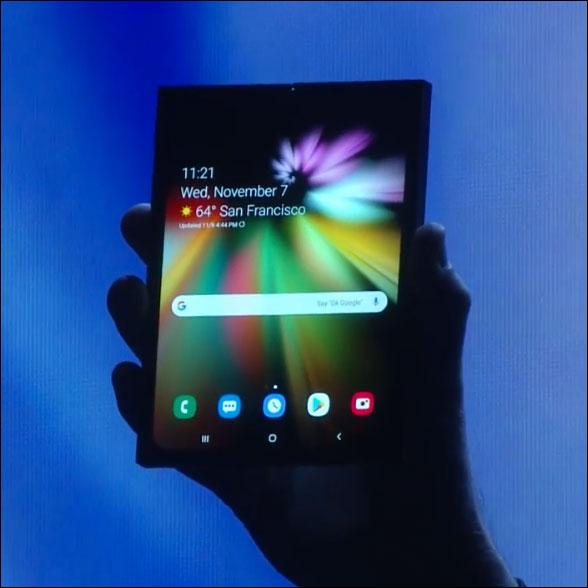 Đã có thông tin giá và ngày phát hành điện thoại gập Galaxy F của Samsung