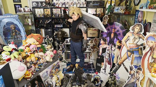 Người sở hữu bộ sưu tập kỷ vật đồ sộ nhất của tựa game Final Fantasy