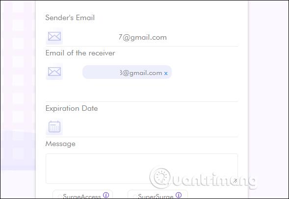 Nhập địa chỉ email
