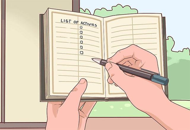 Phác thảo ra các bước tiến hành