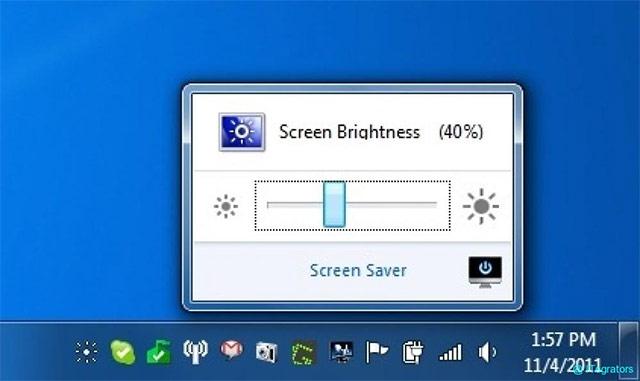Độ sáng màn hình