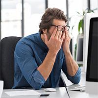 5 dấu hiệu cho thấy bạn bị mỏi mắt do dùng máy tính quá lâu và cách khắc phục