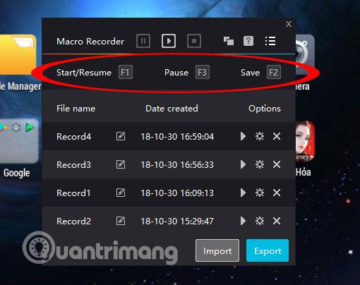 Cách sử dụng tính năng tự động click chuột trên Nox Player