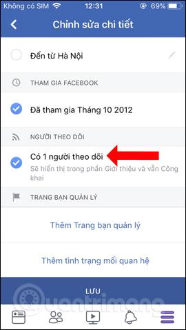 Hướng dẫn hiển thị số người theo dõi trên Facebook bằng điện thoại - Ảnh minh hoạ 6
