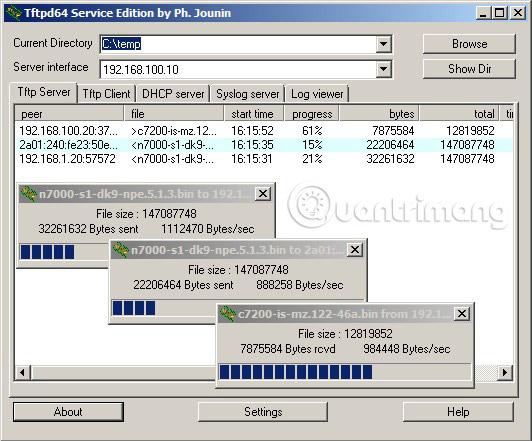 Top phần mềm Syslog Server miễn phí và trả tiền tốt nhất cho Windows