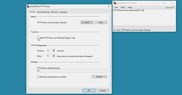 Các TFTP server tốt nhất cho Windows - Quantrimang com