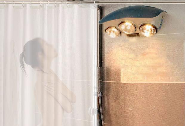 Đèn sưởi nhà tắm có tốn điện không?