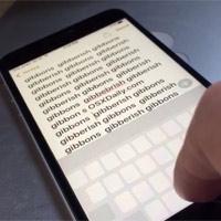 Hướng dẫn di chuyển con trỏ văn bản trên iPhone bằng TrackPad