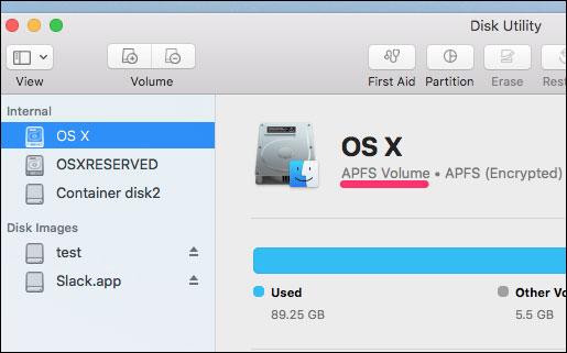Bản chất tự nhiên của file hệ thống đã khiến Mac không cần chống phân mảnh