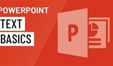 Cách làm việc với văn bản trong PowerPoint 2016