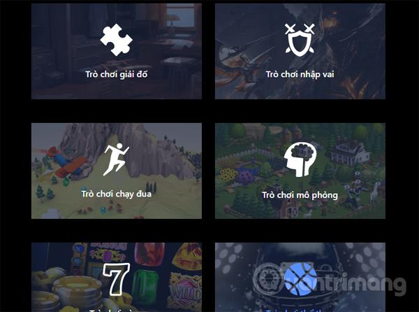 Các thể loại game