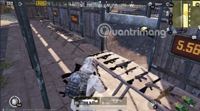 Chế độ huấn luyện vũ khí trong PUBG Mobile