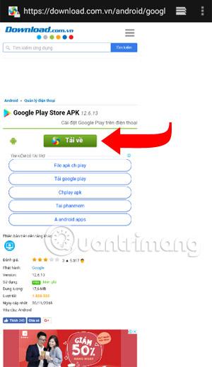 Tải Google Play Store