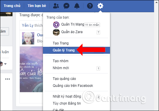 Cách hủy Admin Fanpage Facebook