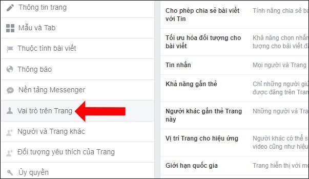 Cách hủy Admin Fanpage Facebook - Ảnh minh hoạ 4