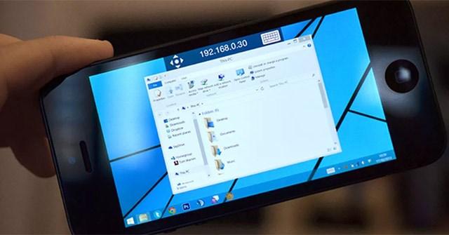 Cách điều khiển và truy cập máy tính bằng điện thoại với Microsoft Remote Desktop