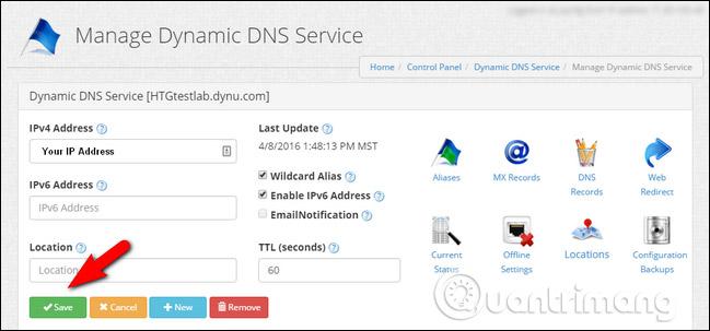 DNS Service động