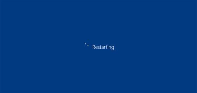 Khởi động lại PC