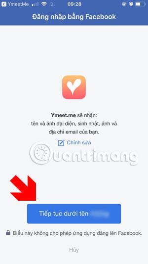 Những cách đăng nhập trên YmeetMe - Ảnh minh hoạ 8