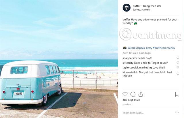 Những kích thước ảnh chuẩn trên Instagram